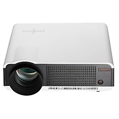 cheap -HTP LED86 LCD LED Projector 2800lm Android 4.4 Support 1080P (1920x1080) 60''-120'' / WXGA (1280x800) / ±15°
