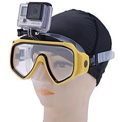 Maske zum Schnorcheln Wasserfest Tauchen und Schnorcheln PP für Unisex