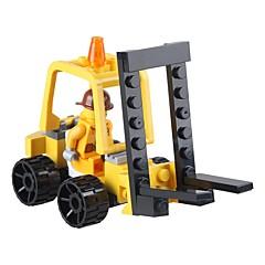 צעצועיערכת עשה זאת בעצמך אבני בניין מלגזה צעצועים מלגזה רכבים קלסי עיצוב חדש מבוגרים 37 חתיכות
