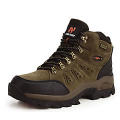 baratos Tênis de Corrida-Sapatos de Montanhismo Homens Mulheres Anti-Escorregar Á Prova-de-Chuva Vestível Respirabilidade Esportes Relaxantes Cano Alto Pele