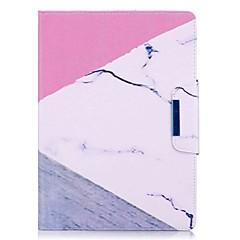 marmor mønster kortholder med stativ flip magnetisk pu lærveske kort veske med mønster for Samsung Galaxy Tab s2 t810 t815 9,7 tommers