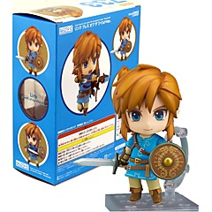 Anime Toimintahahmot Innoittamana The Legend of Zelda Link PVC 10 CM Malli lelut Doll Toy