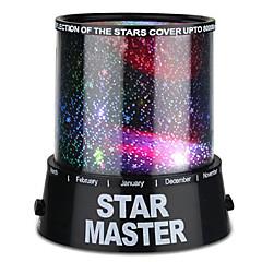 LED-valaistus Star Light Projektorin lamppu Yövalo Makuuhuoneen sänkyvalo Lelut Värikäs Twilight Star Light projektori Poikien Tyttöjen