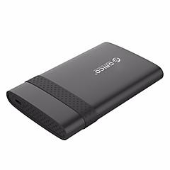 baratos Capas para Disco Rígido-orico 2538c3 2.5 polegadas tipo-c caixa de disco rígido móvel usb3.0 notebook ferramentas gratuitas gabinete hdd para ssd (não incluindo