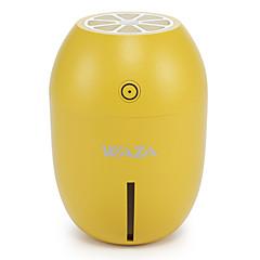 baratos -Waza® mini umidificador lemon night light carro umidificador criativo casa quarto usb umidificador