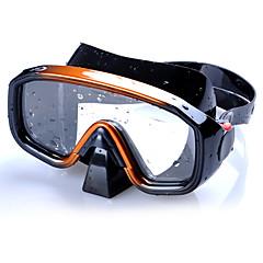 baratos -Máscaras de mergulho Máscara de Snorkel Profissional Anti-Nevoeiro Ajustável Alta qualidade Mergulho e Snorkeling Silicone