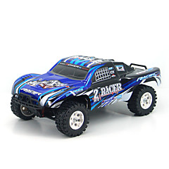billige Fjernstyrte biler-Radiostyrt Bil RP-02 2.4G 4WD Høyhastighet Driftbil Off Road Car Trailer Buggy (Off- Road) 1:16 KM / H Fjernkontroll Oppladbar Elektrisk