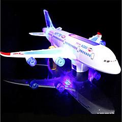 LED - Beleuchtung Spielzeuge Flugzeug Urlaub Geburtstag Musik Nachts leuchtend Mit Schalter Klassisch Stücke