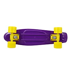 27 Inch Longboards Skateboard Normal Casual/Daily Sports PP YARN 4-Violet Yellow Black Solid