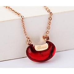 cheap Necklaces-Women's Geometric Shape Korean European Pendant Necklace Cubic Zirconia Gold Agate Pendant Necklace Wedding Daily