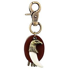 baratos Chaveiros-Eagle Chaveiro Dourado / Prata Pele, Liga Animais, Fashion Para Para Noite