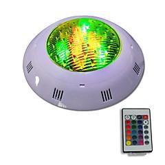 billiga Dekorativ belysning-Jiawen 12w ip68 Vattentät RGB LED undervattenspool Ljus fjärrstyrd utomhusbelysning AC 12 - 24V