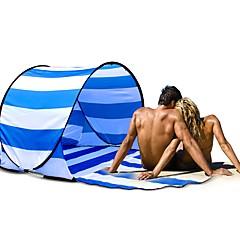 billige Telt og ly-GAZELLE OUTDOORS 2 personer Kanapetelt Strandtelt Skjermtelt Enkelt camping Tent Ett Rom Automatisk Telt Folding Fleksibel Pusteevne