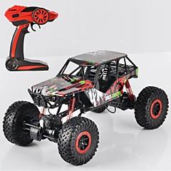 billige Fjernstyrte biler-Radiostyrt Bil P1001 Buggy (Off- Road) / Fjellklatring Bil / Monster Truck Bigfoot 1:10 * KM / H Fjernkontroll / Oppladbar / Elektrisk