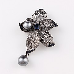 Women's Brooches Jewelry Alloy Circle Jewelry For Wedding Party