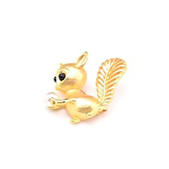 cheap Brooches-Women's Lovely Imitation Pearl Imitation Pearl Brooches - Animals / Sweet Gold Brooch For Daily / Going out