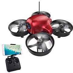 billige Fjernstyrte quadcoptere og multirotorer-RC Drone DMRC DM107S 4 Kanaler 6 Akse 2.4G Med HD-kamera 0.3MP 640P*480P Fjernstyrt quadkopter LED Lys / Auto-Takeoff / Hodeløs Modus
