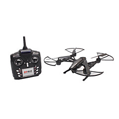 billige Fjernstyrte quadcoptere og multirotorer-RC Drone JINXINGDA 509W 6 Akse 2.4G Med HD-kamera 0.3MP Fjernstyrt quadkopter FPV En Tast For Retur Hodeløs Modus FPV Monitor Fjernstyrt