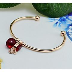 cheap Bracelets-Women's Onyx Rose Gold Cuff Bracelet - Fashion European Gold Bracelet For Wedding Daily