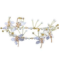 billige Hår Smykker-Dame Blomster Hårbånd Blomster