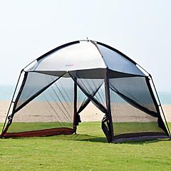 halpa -8.0 Teltta Retkiteltta Kaksinkertainen teltta Yksi huone Perheteltat Sateen kestävä UV varten Kalastus Retkeily ja vaellus 1500-2000 mm