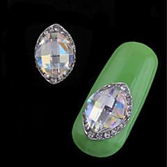 billiga Nagelvård och nagellack-2 pcs Stilig / Mode Nail Smycken Nail Art Design Dagligen