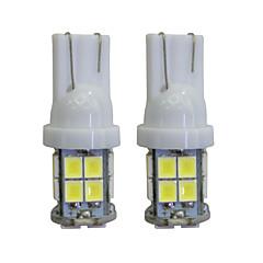 billige Interiørlamper til bil-2 stk. T10 12v 2w ledet innvendig billampe erstatningslampe 40 lumen ledet bilpære sett