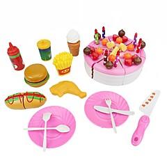 Tue so als ob du spielst Konstruktionswerkzeuge Kinderkochgeräte Spielzeuge Kreisförmig friut Essen & Trinken Jungen Mädchen Stücke