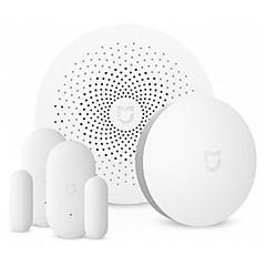 baratos -xiaomi mijia smart home aqara kit de segurança - interruptor sem fio branco / sensor de porta de janela / gateway multifuncional