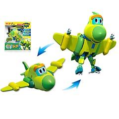 preiswerte -Roboter Spielzeug-Boote Flugzeug Kämpfer Spielzeuge Dinosaurier Tier Tiere Fahrzeuge Tiere Transformierbar Eltern-Kind-Interaktion