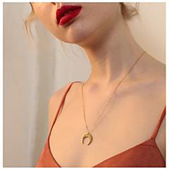 billige Fine smykker-Dame Hjerte Halskædevedhæng  -  Simple Mode Guld Halskæder Til Gave Daglig