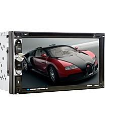 tanie -2 din samochód uniwersalny odtwarzacz radia stereo samochód odtwarzacz dvd mp3 cd audio bluetooth usb fm 6.95 cal ekran dotykowy auto