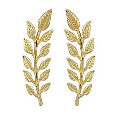 Χαμηλού Κόστους Μοδάτες Καρφίτσες-Γυναικεία Καρφίτσες - Leaf Shape Βασικό, Μοντέρνα Καρφίτσα Χρυσό Για Ημερομηνία / Δρόμος
