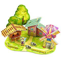 preiswerte -Modellbausätze Architektur Eltern-Kind-Interaktion Handgefertigt Exquisit lieblich Weicher Kunststoff 1pcs Moderne Romantisch Kinder