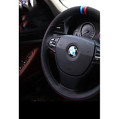 billige Rattovertrekk til bilen-bil ratt deksler (lær) for BMW Alle år 3 serie 5-serien x1 x5 320li x6 x4 x3