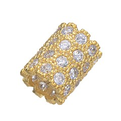 baratos Miçangas & Fabricação de Bijuterias-Jóias DIY 1 pçs Contas Cobre Dourado Prata Forma do tubo Bead 0.42 cm faça você mesmo Colar Pulseiras