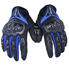 tanie Rękawiczki motocyklowe-moda pełny palec motocykl skuter pit pit bike atv jazda kierowcy wyścigi rękawiczki sportowe