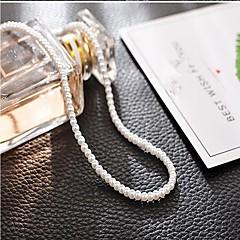 baratos Miçangas & Fabricação de Bijuterias-Jóias DIY 95 pçs Contas Imitação de Pérola Branco Preto Rosa pérola Rosa Claro Redonda Mini Bead 0.3 cm faça você mesmo Colar Pulseiras