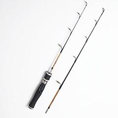 Недорогие -Удилище для подледной рыбалки Стекловолокно 50/70 см Ловля со льда 2 Секции Стержень Умеренный (М) Средний (M)