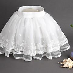 billige Pigenederdele-Baby Pige Aktiv Ensfarvet Bomuld Nederdel