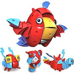 tanie Klocki magnetyczne-Płytki magnetyczne / Klocki 90 pcs Ptaszek / Zwierzę Transformacja / Nowy design Anime Dla chłopców Prezent