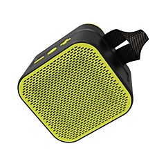 cheap -NR1017 Speaker Outdoor Bluetooth Speaker Bluetooth 4.1 Audio (3.5 mm) Green Black Yellow Red Blue