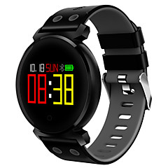 tanie Inteligentne zegarki-Inteligentne Bransoletka JSBP-K2 na Android 4.4 / iOS Pomiar ciśnienia krwi / Krokomierze / Liczniki kalorii / Kontrola APP / Kontrola dotykowa Pulsometr / Czasomierz / Krokomierz / Powiadamianie o