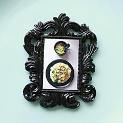 お買い得  フレーム/アルバム-結婚式のdcor - 1本の黒のバロック様式のエレガントな壁フレームの家のdecors