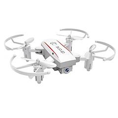 billige Fjernstyrte quadcoptere og multirotorer-RC Drone HY1601WHITE 4 Kanal 6 Akse 2.4G Med 720 P HD-kamera Fjernstyrt quadkopter Høyde Holding WIFI FPV En Tast For Retur Hodeløs Modus
