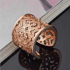 billige Motering-Dame Statement Ring Håndledd Ring - Sølv, Strass Hjerte, Kjærlighed Luksus, Unikt design, Elegant Justerbar Gull / Sølv Til Bryllup Fest jubileum