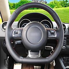 billige Rattovertrekk til bilen-bilstøttehjuldeksel (skinn) for audi tt
