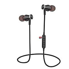 billiga Headsets och hörlurar-Cwxuan I öra Trådlös Hörlurar Planar Magnetic Aluminum Alloy / Plast Mobiltelefon Hörlur Magnetattraktion / Med volymkontroll / mikrofon