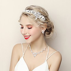 cheap Jewelry Sets-Women's Rhinestone Jewelry Set 1 Necklace Earrings - Fashion Jewelry Set For Wedding Evening Party
