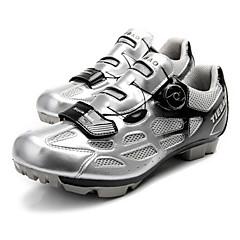 cheap Cycling Shoes-Tiebao® Road Shoes Bike Cycling Shoes Adults' Anti-Slip Cushioning Ventilation Breathable Wearproof Mountain Bike Outdoor Cycling / Bike